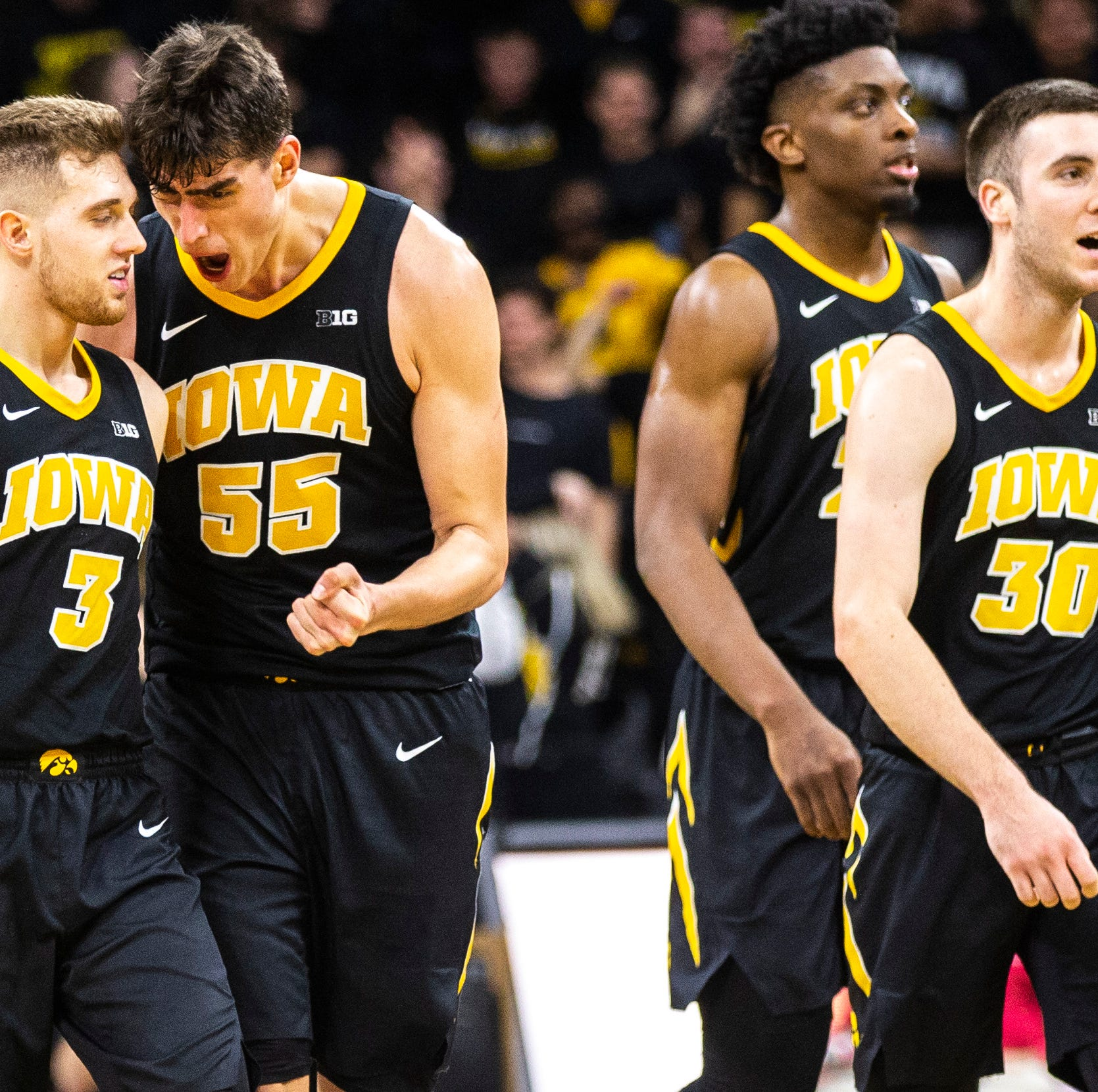 Inside Iowa's rise from 14-19 team to NCAA Tournament berth