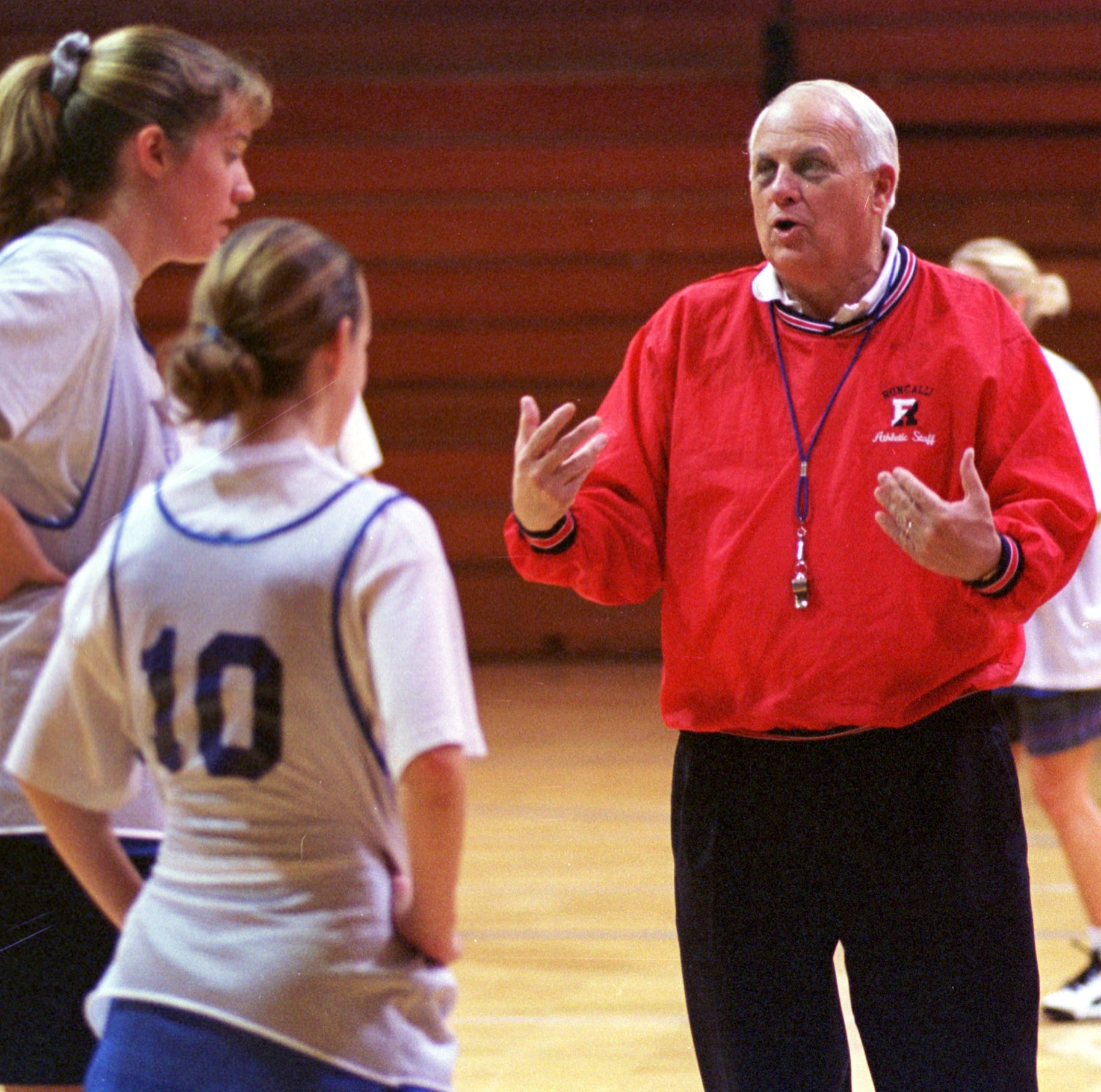 Legendary Roncalli coach Bob Kirkhoff  had no enemies. He was 'Roncalli at his core.'