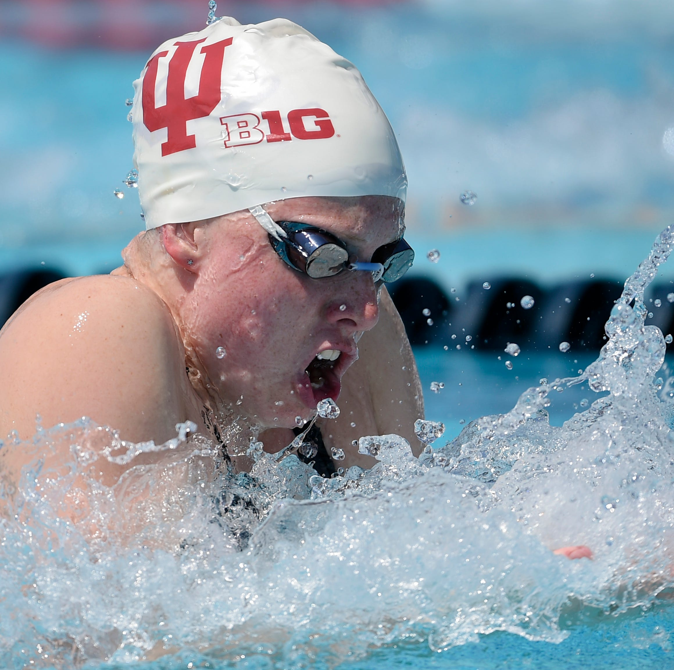 IU swimmer Lilly King smashes own American record in Big Ten meet