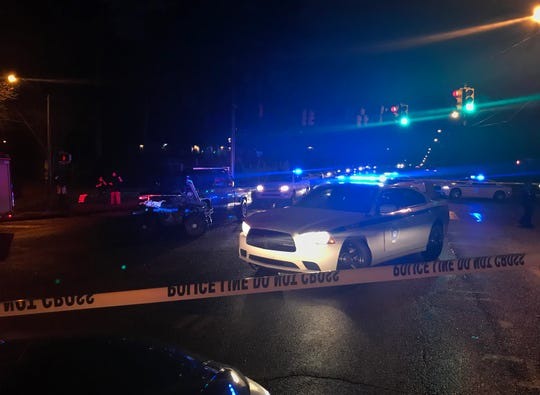 A man was found shot in the intersection of Hanging Moss Road and Forest Avenue.