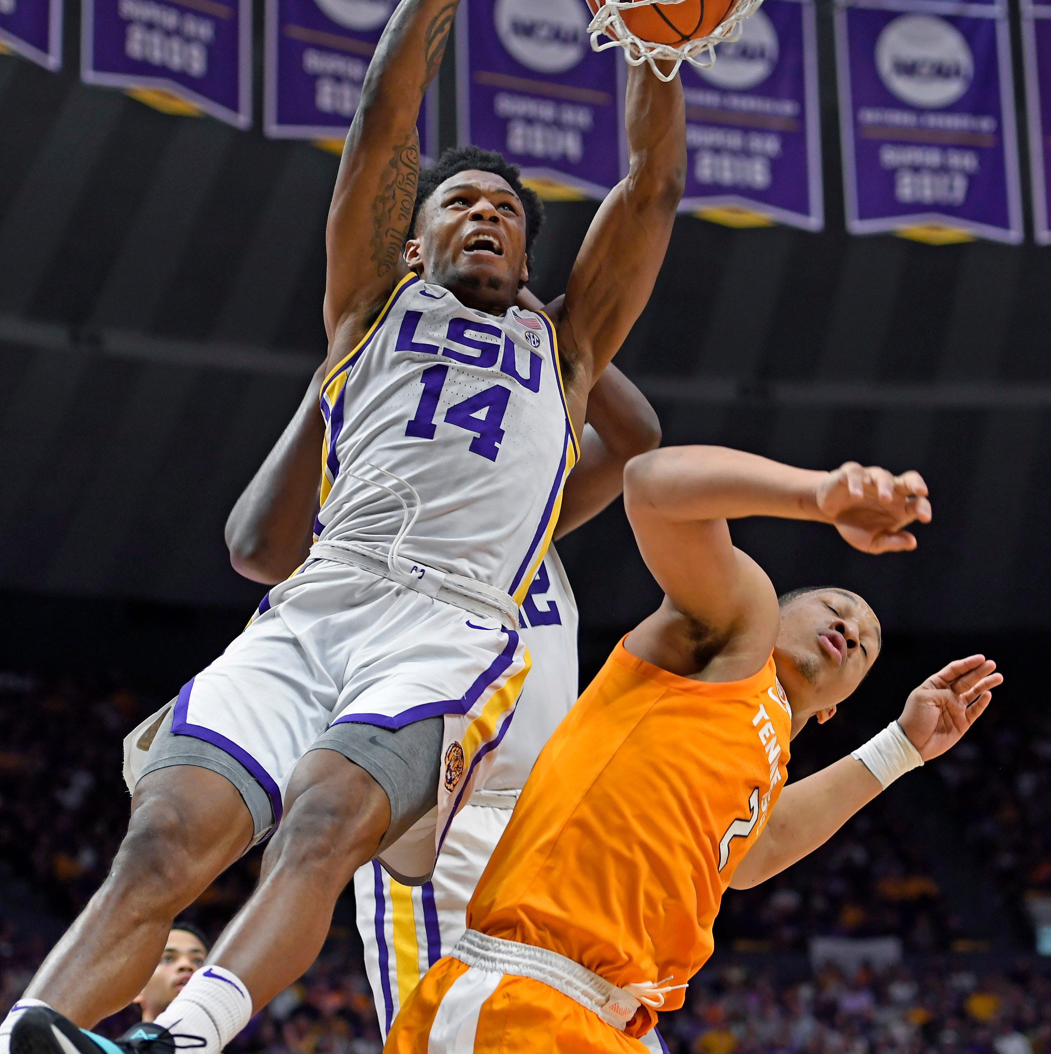 Dumb foul dooms Tennessee basketball in OT loss at LSU
