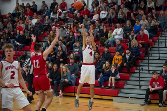 West Lafayette's Will Lasater scored 18 points in the sectional opener against Frankfort.