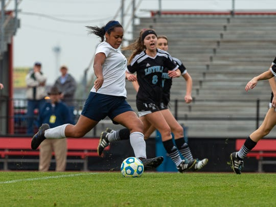 The ESA Lady Falcons take on Loyola College Prep for the LHSAA State Soccer Championship on Friday, Feb. 22, 2019. The Lady Falcons fell 3-0.