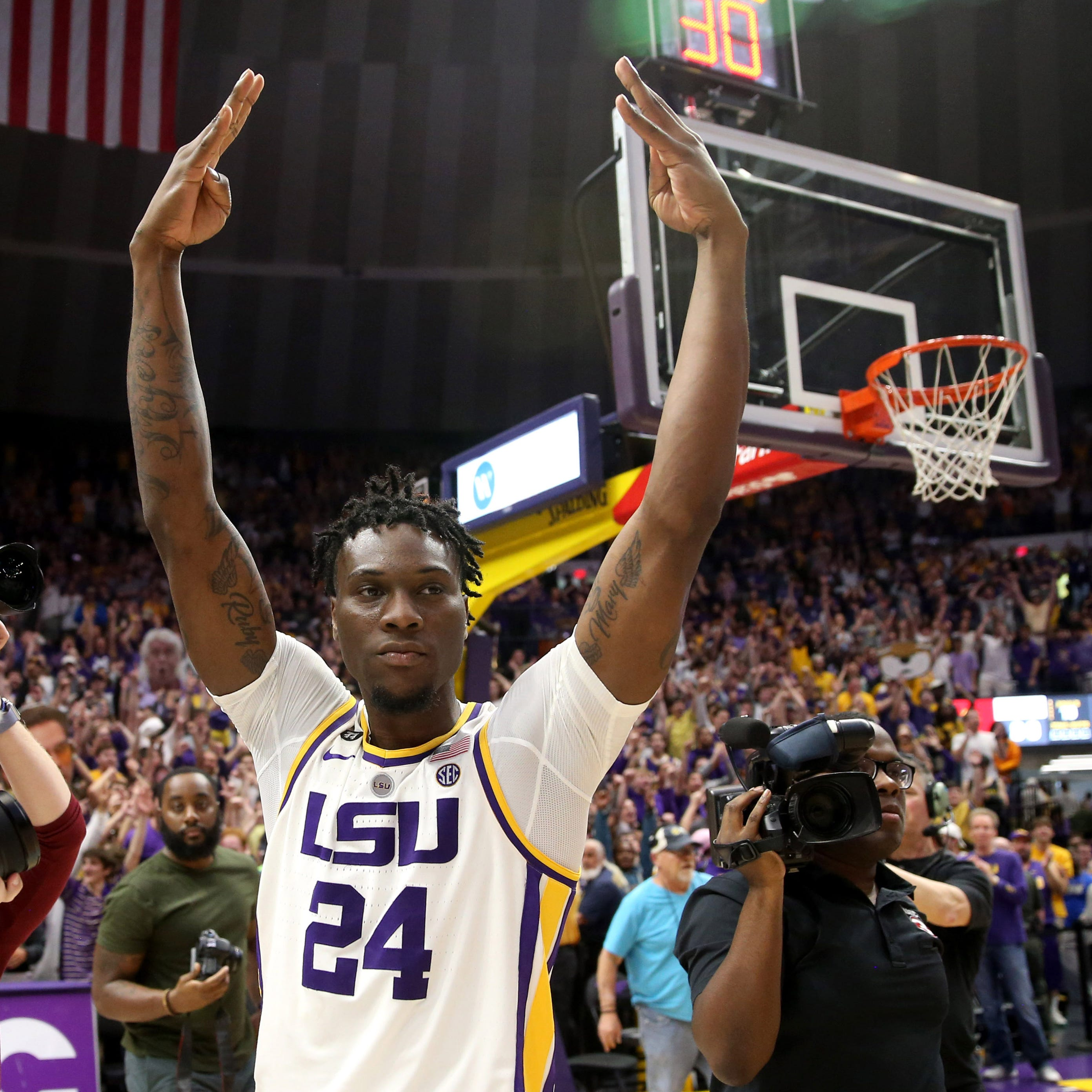 Fort Myers' Emmitt Williams has found a home in Baton Rouge with LSU men's basketball