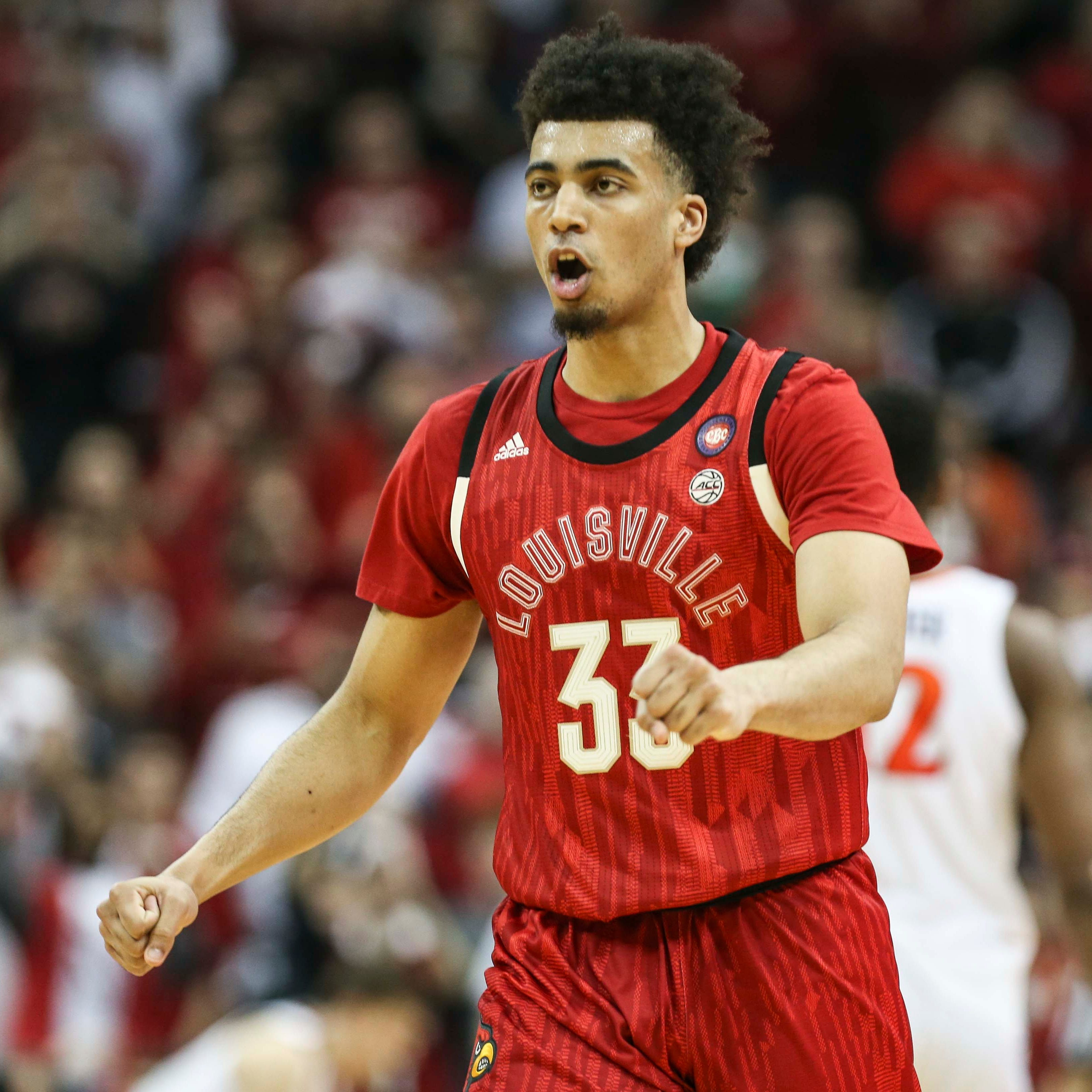 Louisville's Jordan Nwora has 'small injury' that could affect NBA combine