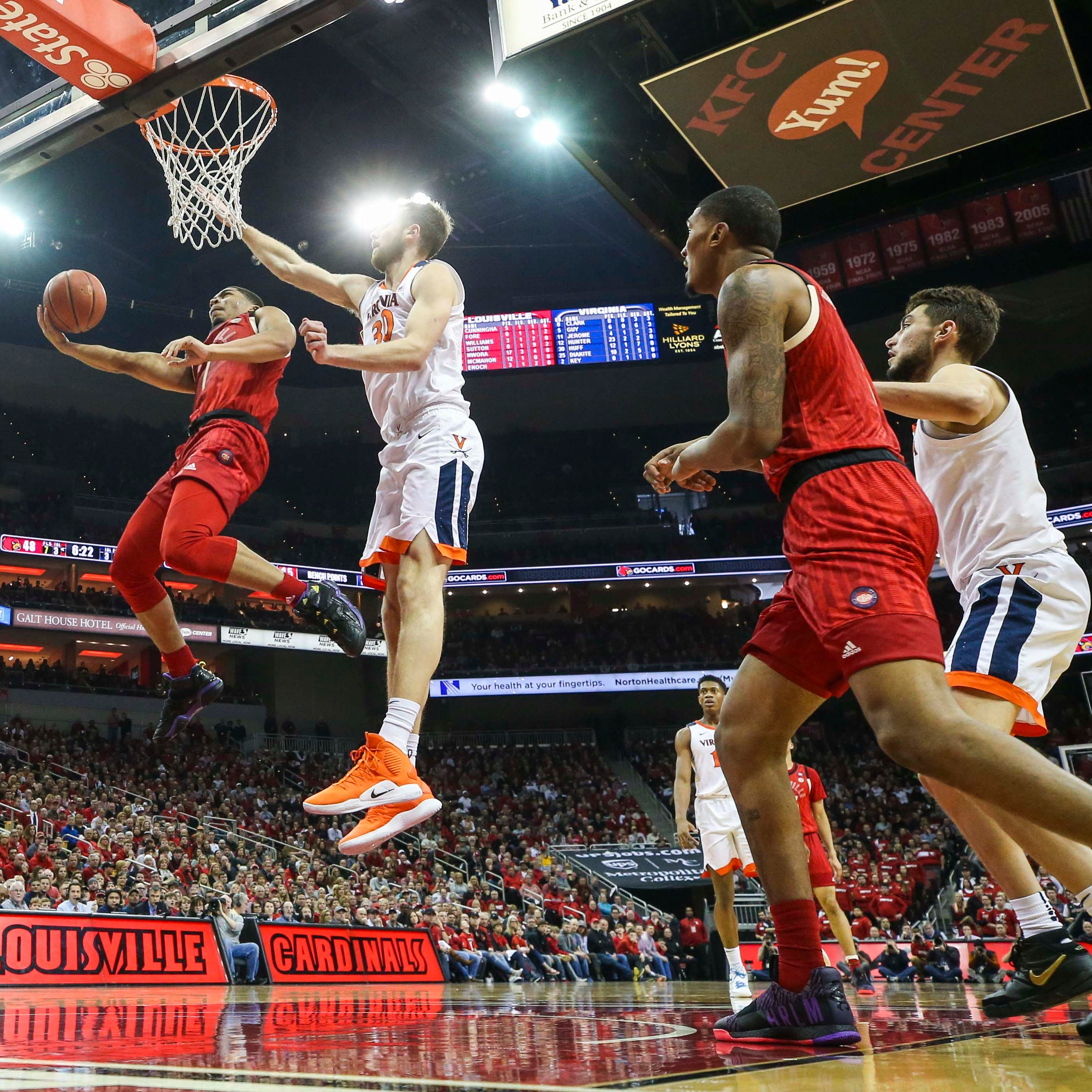 Louisville basketball at Virginia: How to watch, listen, stream