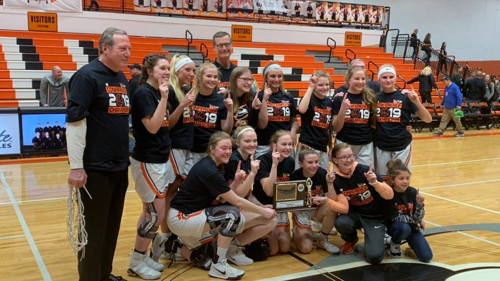 Charlotte girls basketball tops Portland, captures first outright league crown in 26 years