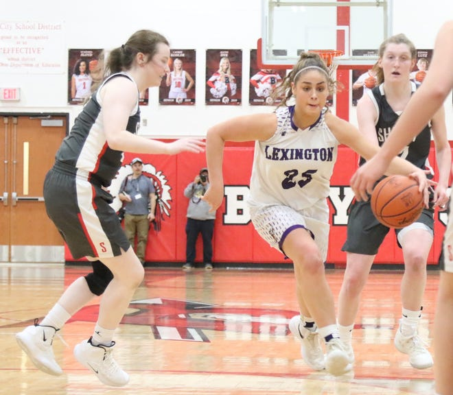 Lexington's Gabby Stover will recover from an ACL injury in time to play basketball this winter making Lexington a team to keep an eye on.