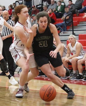Madison's Chesney Davis returns as the Lady Rams' leading scorer and has the team thinking OCC title.