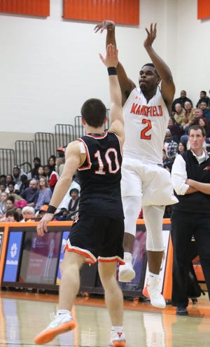Mansfield Senior's Manny Bronson was nominated for male athlete of the week.