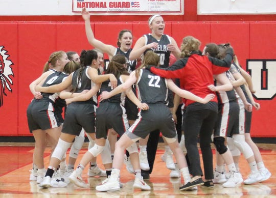 The Shelby Lady Whippets are the lone remaining Richland County girls basketball team left in the tournament after winning a sectional championship on Saturday.