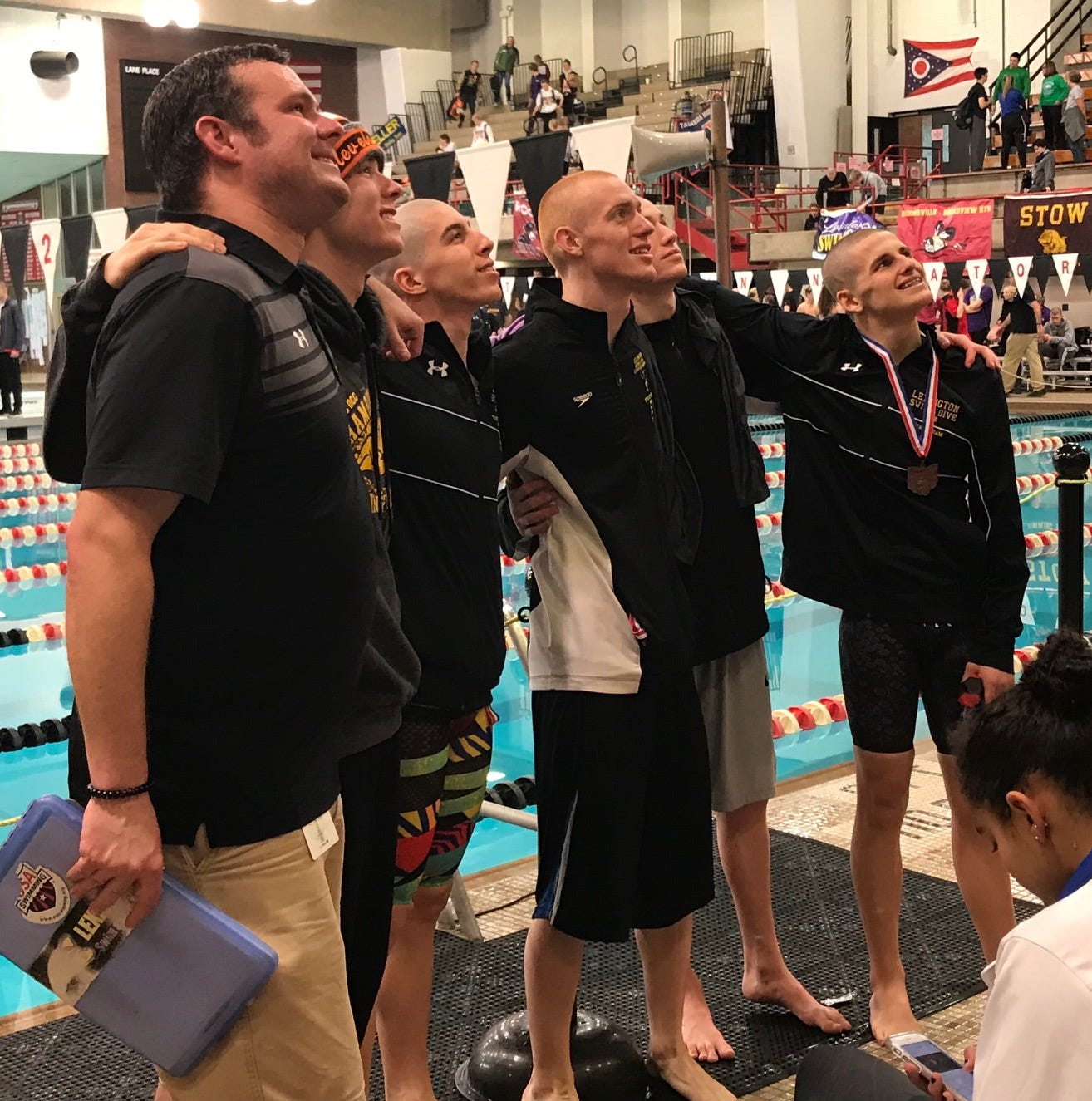 Who's No. 1? Lex top public school in state swim meet