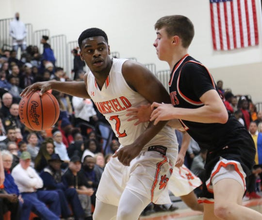Mansfield Senior's Manny Bronson led the Tygers with 15 points in their Ohio Cardinal Conference title clinching win over Ashland on Friday night.
