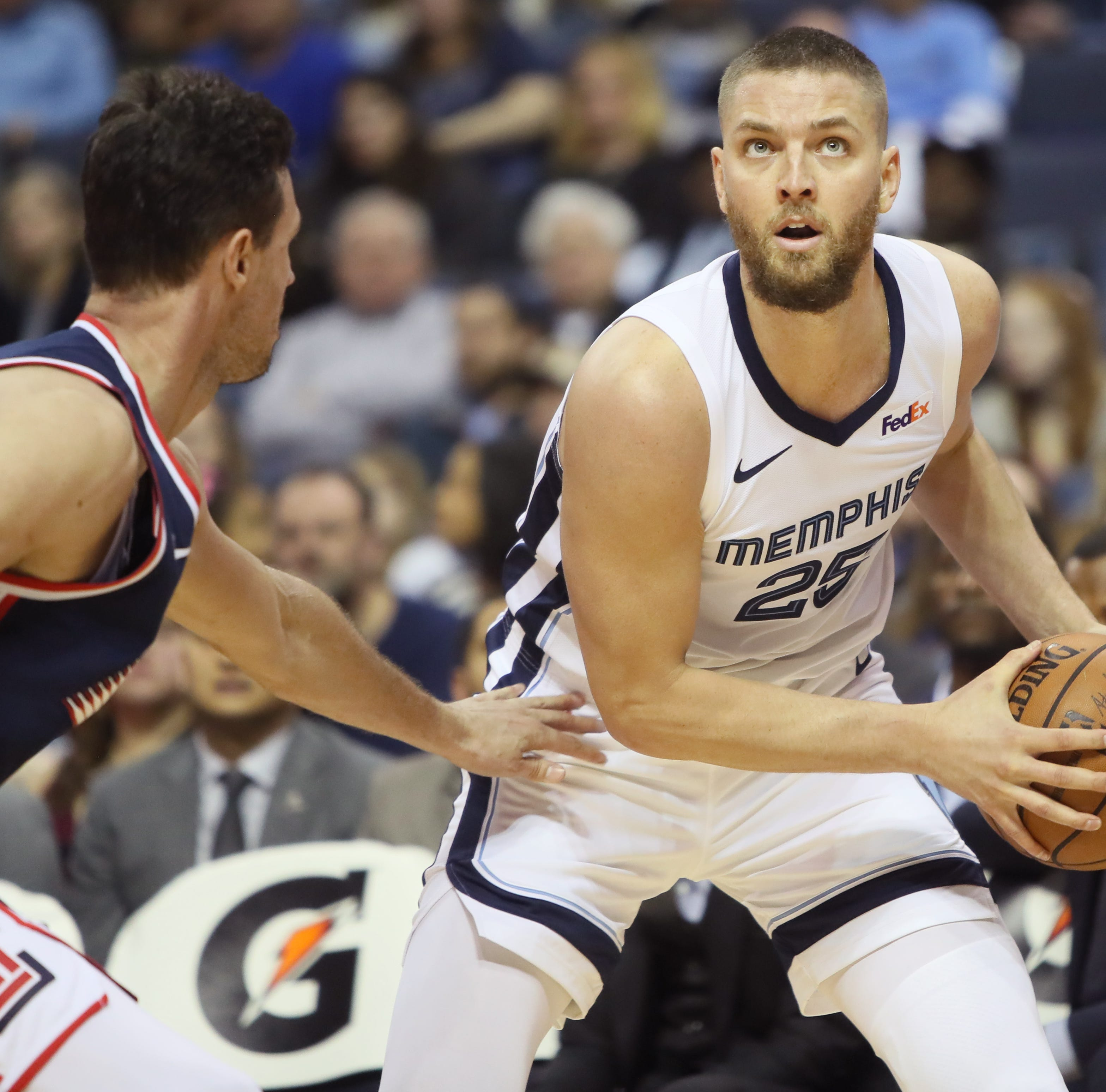 Chandler Parsons evaluates first game back with Memphis Grizzlies