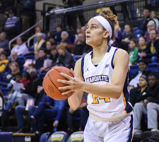 Selena Lott will be playing her junior season at Marquette.