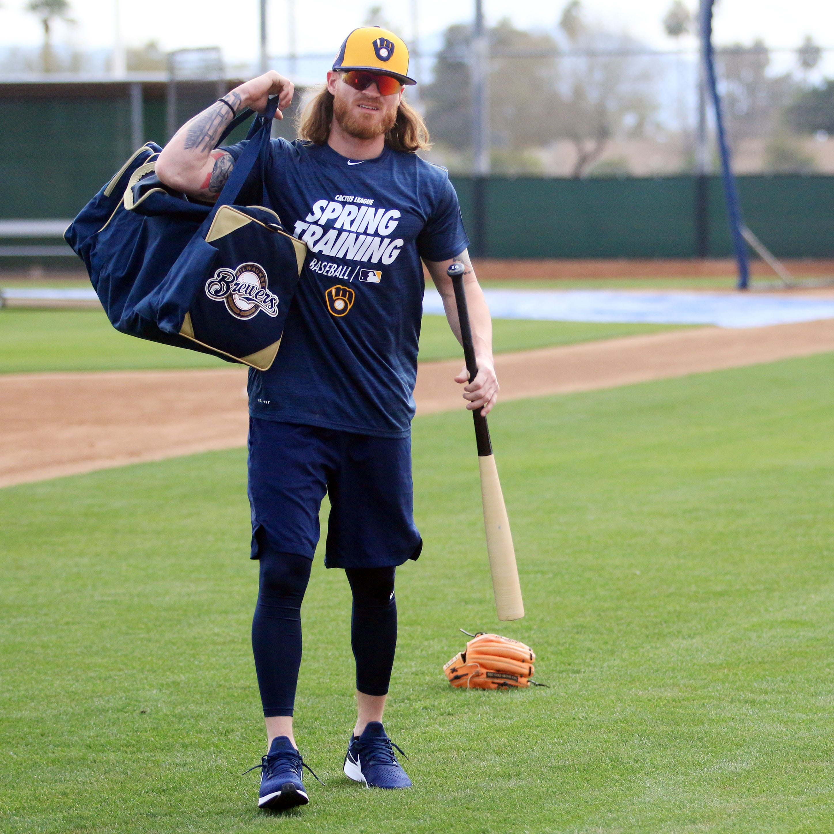 Bench: Versatile outfielder Ben Gamel is looking forward to a fresh start with the Brewers