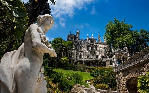 The mansion at Quinta da Regaleira.