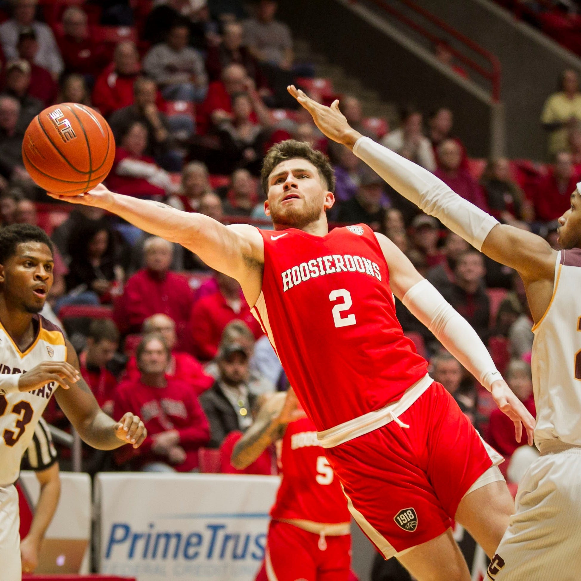 As a frustrating Ball State basketball season gets worse, James Whitford has to adjust