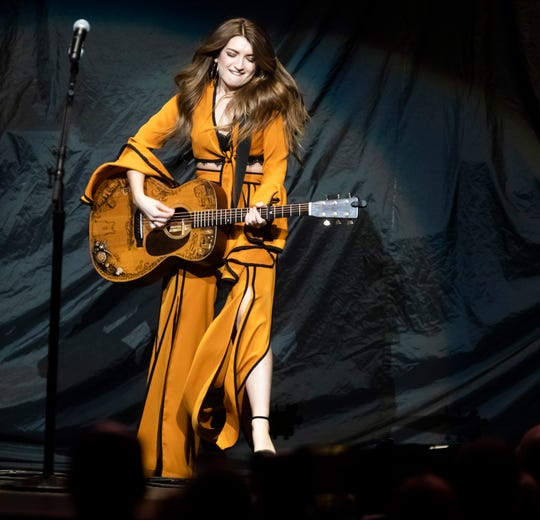 Tenille Townes performs at Bridgestone Arena Friday, February 22, 2019.