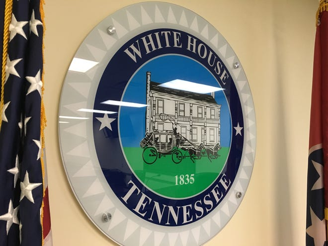 The city seal for White House, Tenn will soon be moving to a new home once a new administrative building and community center is built.