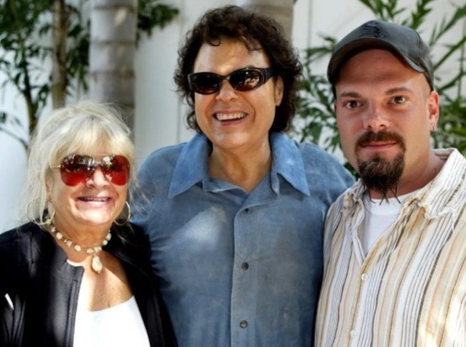Left-to-right: Joyce Milsap, Ronnie Milsap and Todd Milsap.