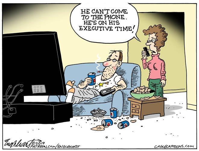 executive time of average guy