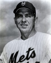 Gil Hodges of the NY Mets