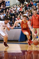 Bergen Catholic senior guard Doug Edert (25) has been chosen to represent the North at the 41st annual New Jersey North/South All-Star Game on March 16 at Rider.