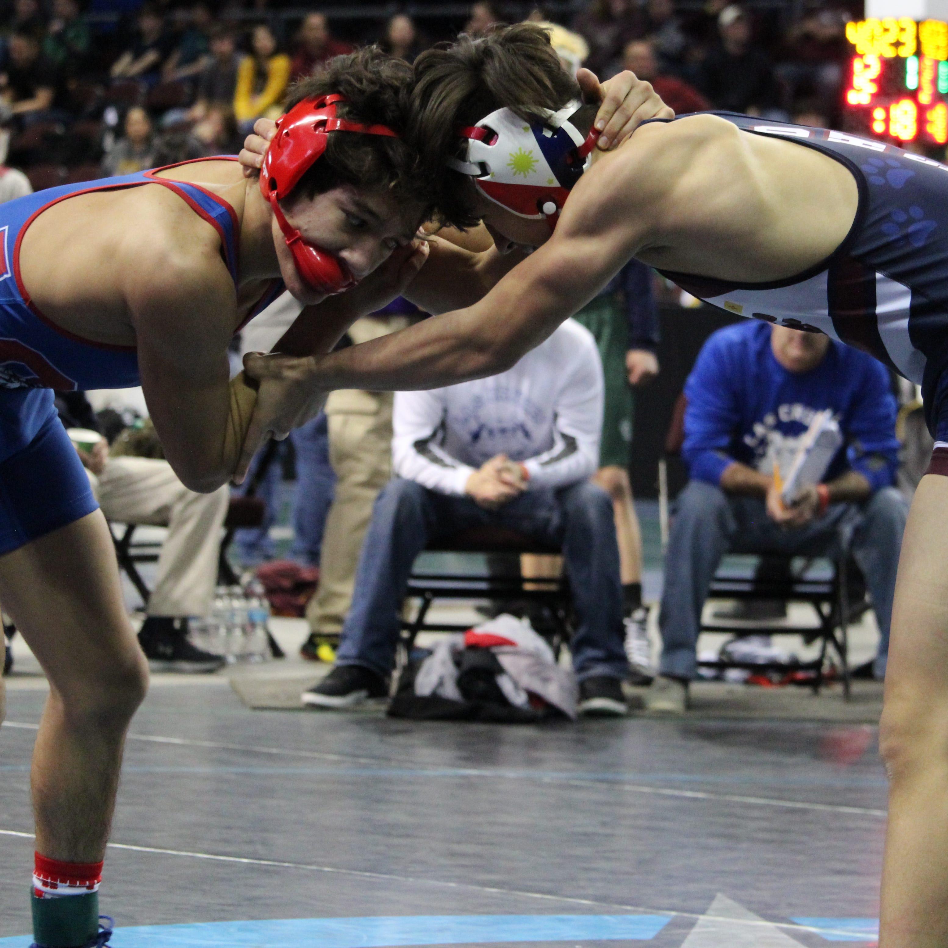 Three Las Cruces Public Schools wrestlers reach state tournament semifinals