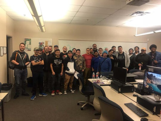 """About 30 """"game jammers"""" participated in Game Jam 2019 at Doña Ana Community College and invented four new games."""