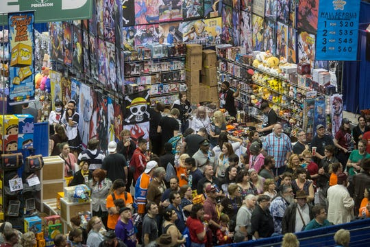 Thousands of fans will descend on the Pensacola Bay Center this weekend for Pensacon.