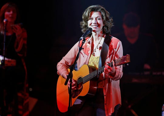 Amy Grant performs in concert at the Celebrity Theatre in Phoenix on Feb. 22, 2019.