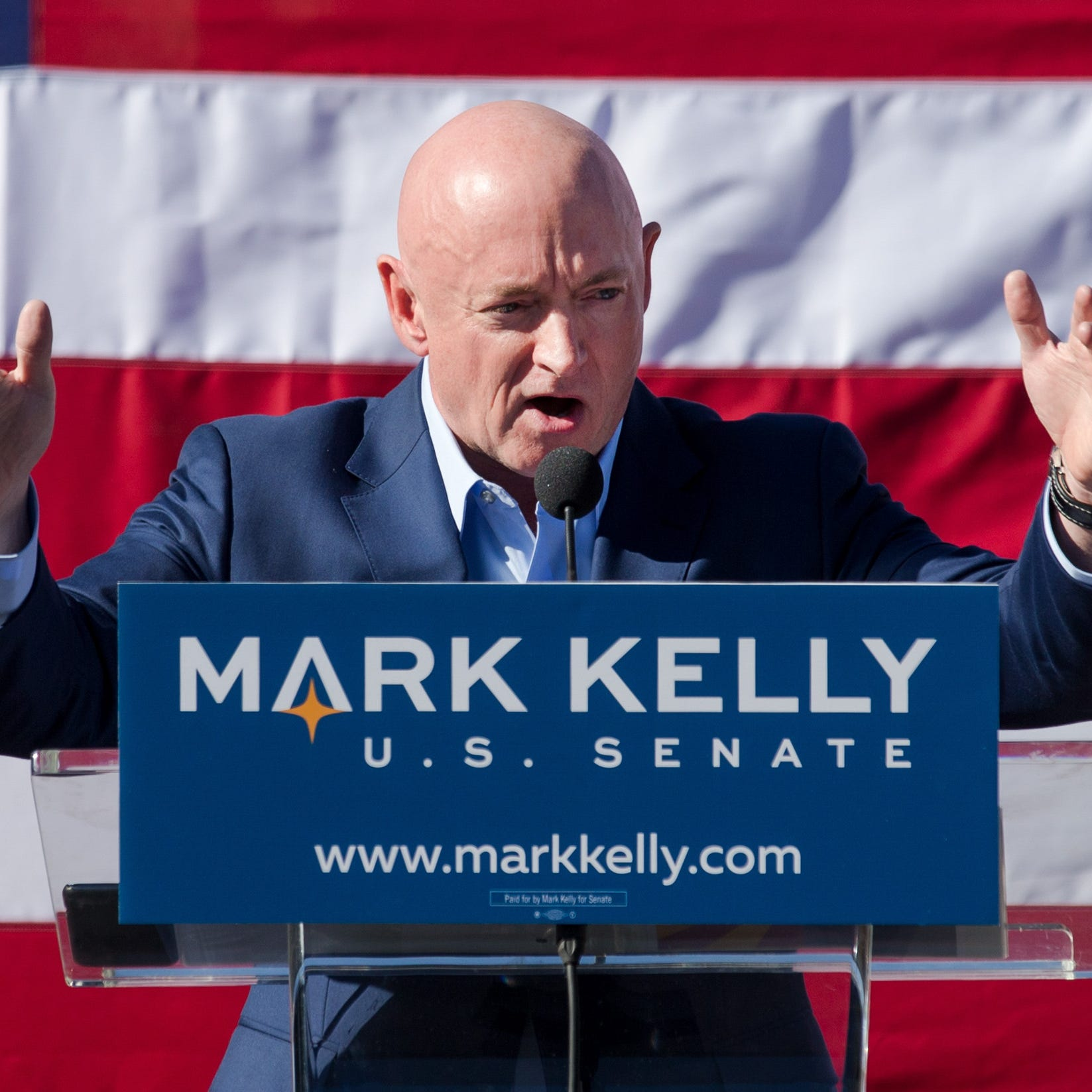 Mark Kelly criticized by GOP after onetime alleged 'deadbeat' hosts event