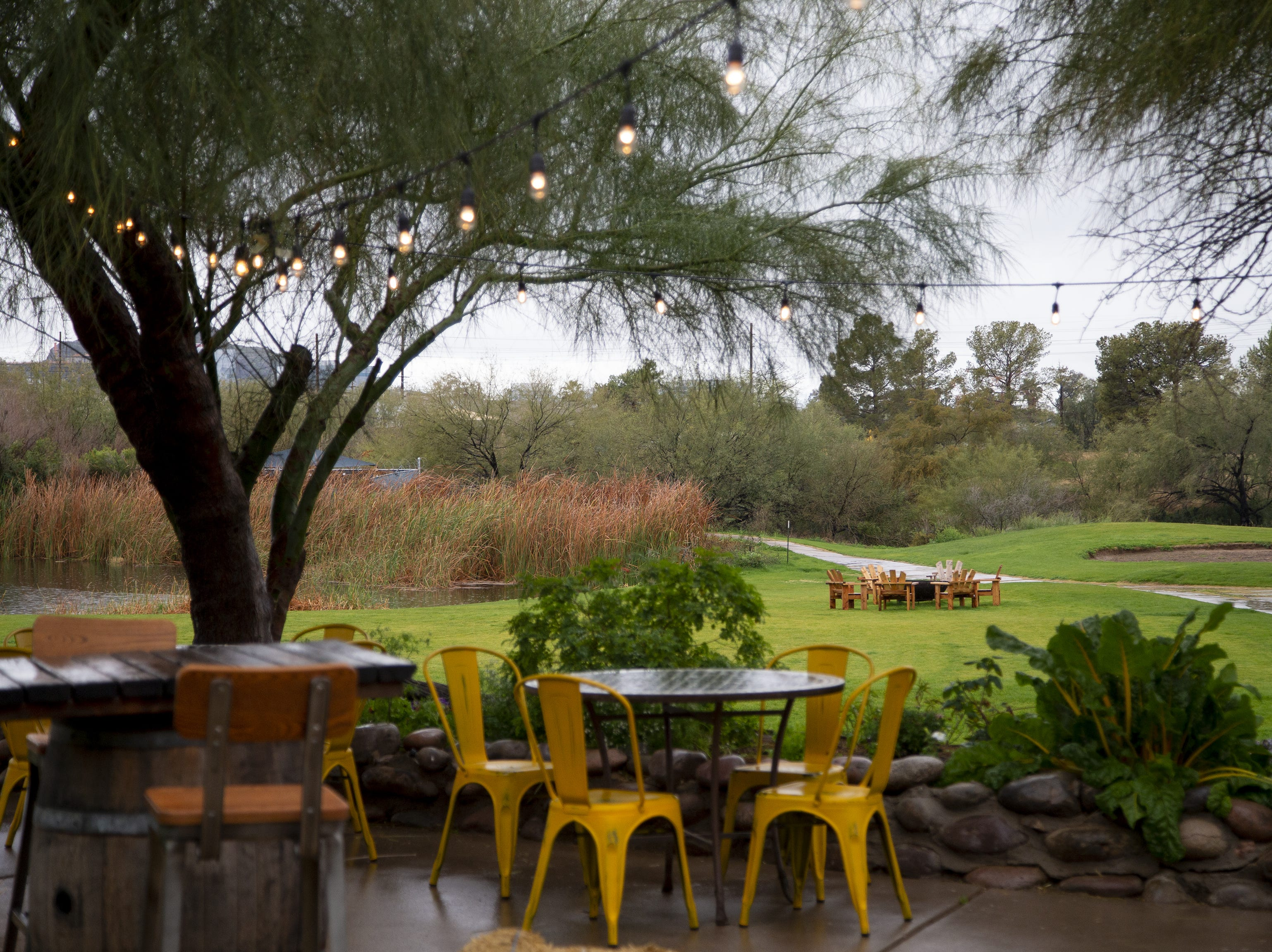 Singh Meadows patio in Tempe.