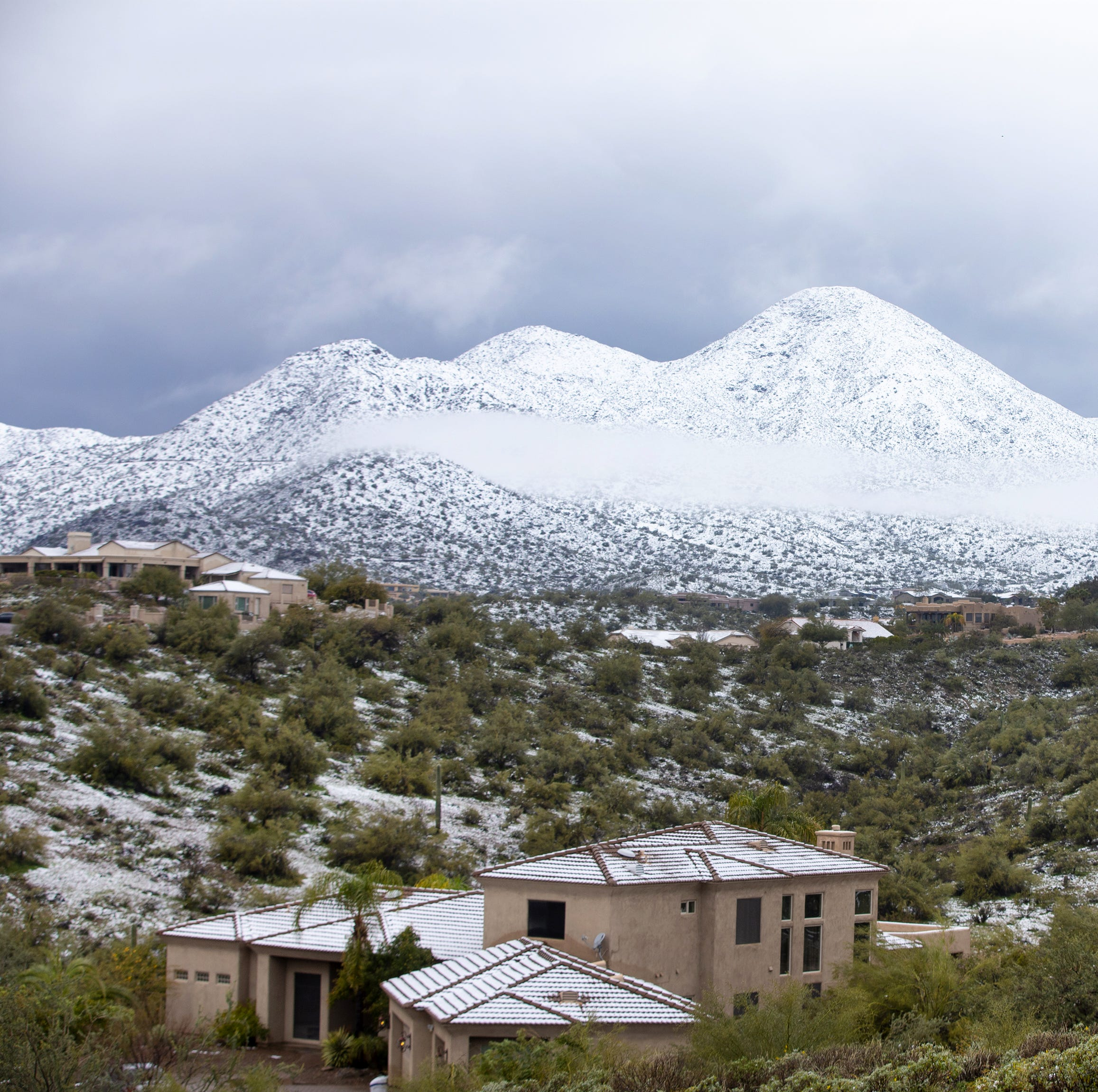 Winter's wallop: Snow, rain leave their mark, but next week will bring a different story