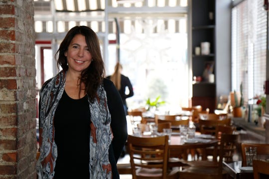 Laura Pinsiero owner of Gigi Trattoria in Rhinebeck on Feb 22, 2019.