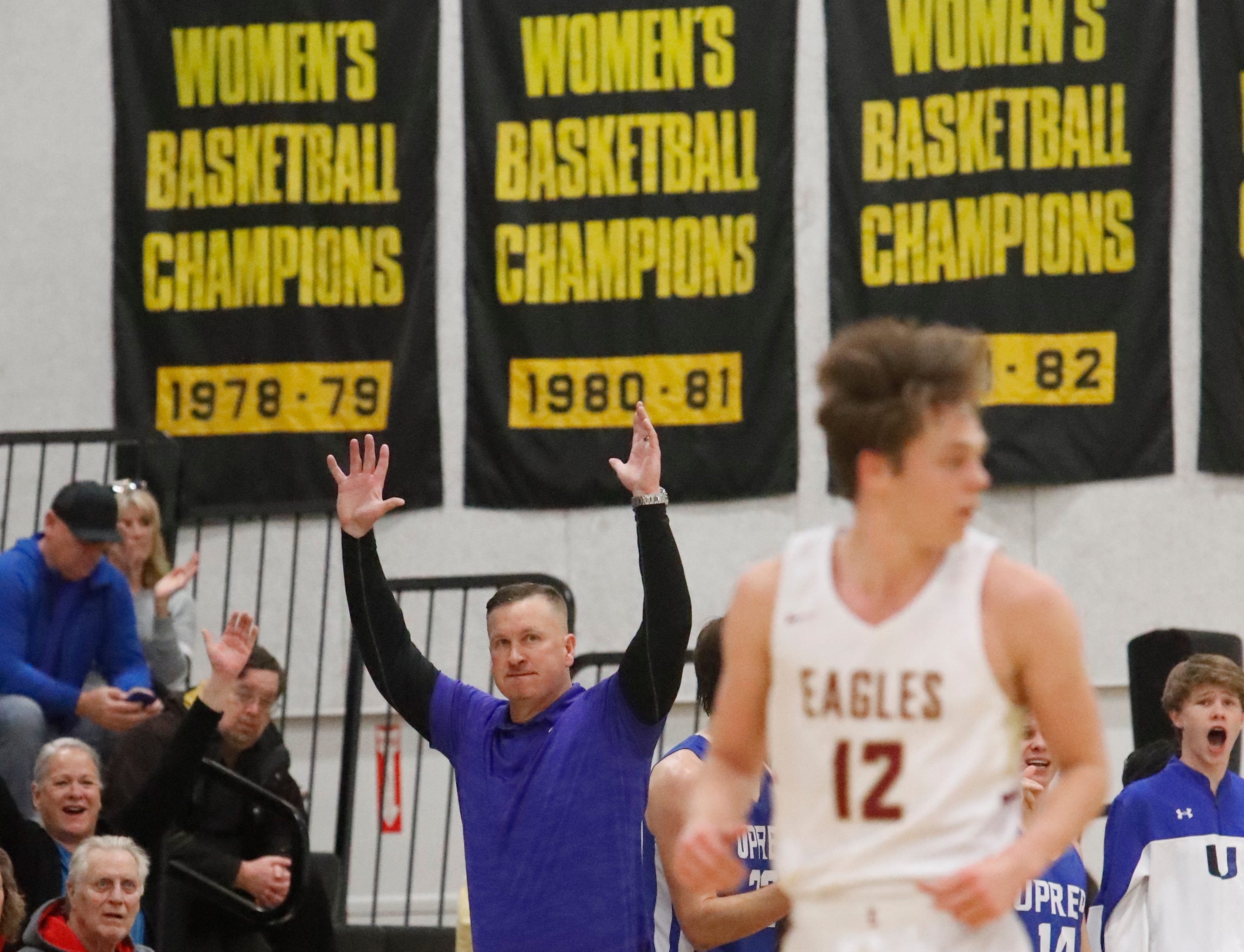 U-Prep beat West Valley, 53-42, to win the Division IV Northern Section championship at Butte College on Friday, Feb. 22.