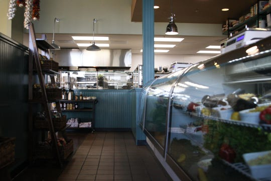 The deli counter at Wild Thyme