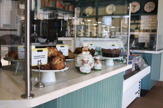 Scones and other baked goods are currently made in-house at Wild Thyme.