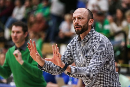 Wall High School head girls coach Tate Lombard is leaving his position at Wall after eight seasons to take a position as assistant coach working for his father, Joe Lombard, at Class 4A Canyon High School.