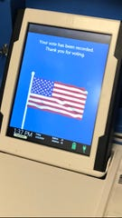 Tom Green County voters will be using the new touch-screen voting machines purchased by the Commissioner's Court in the upcoming May election.