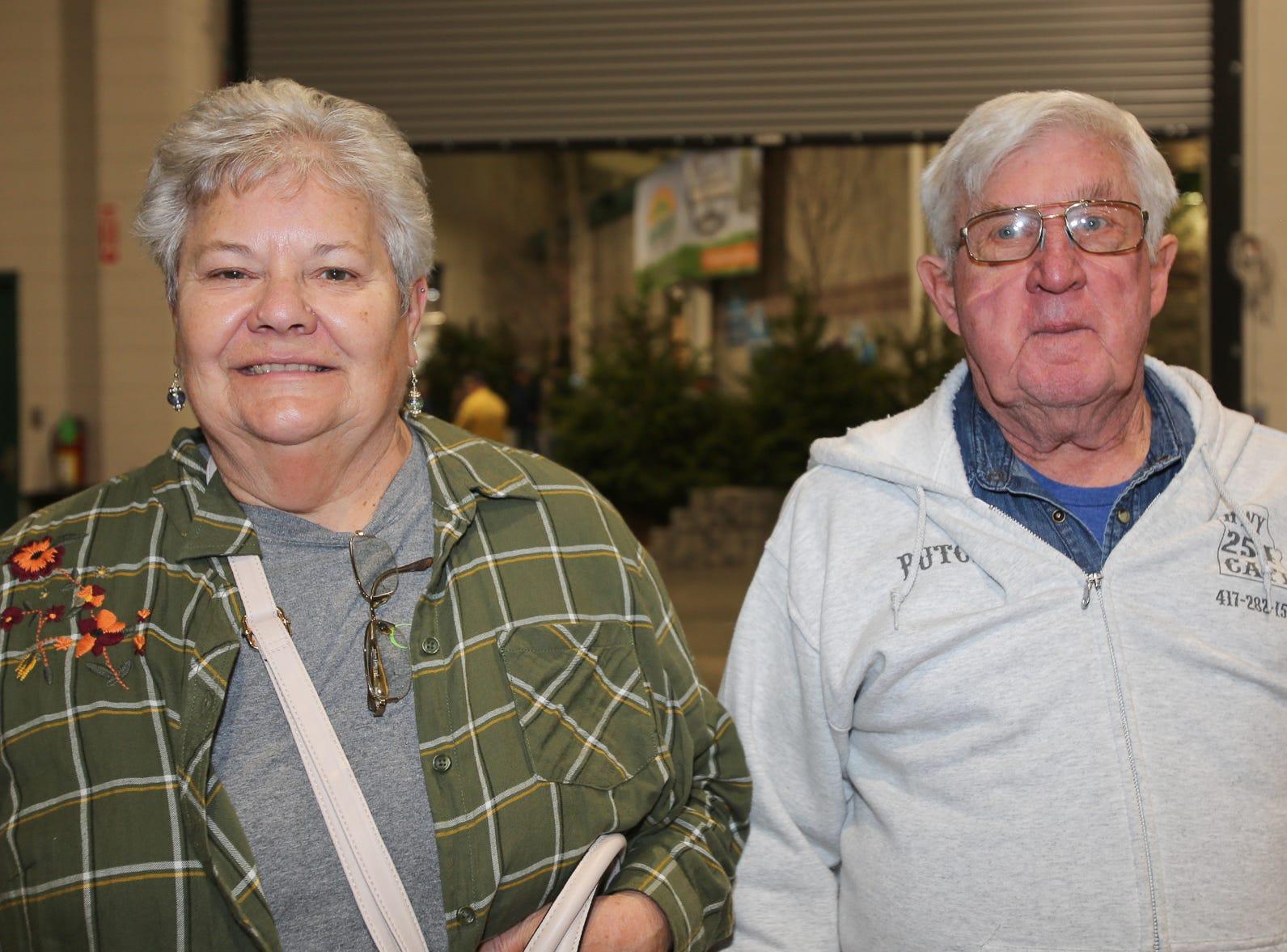 Lorene and Butch Cumley