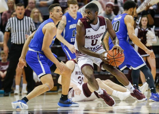 Missouri State defeated Indiana State 67-61 at JQH Arena on Saturday, Feb. 23, 2019.