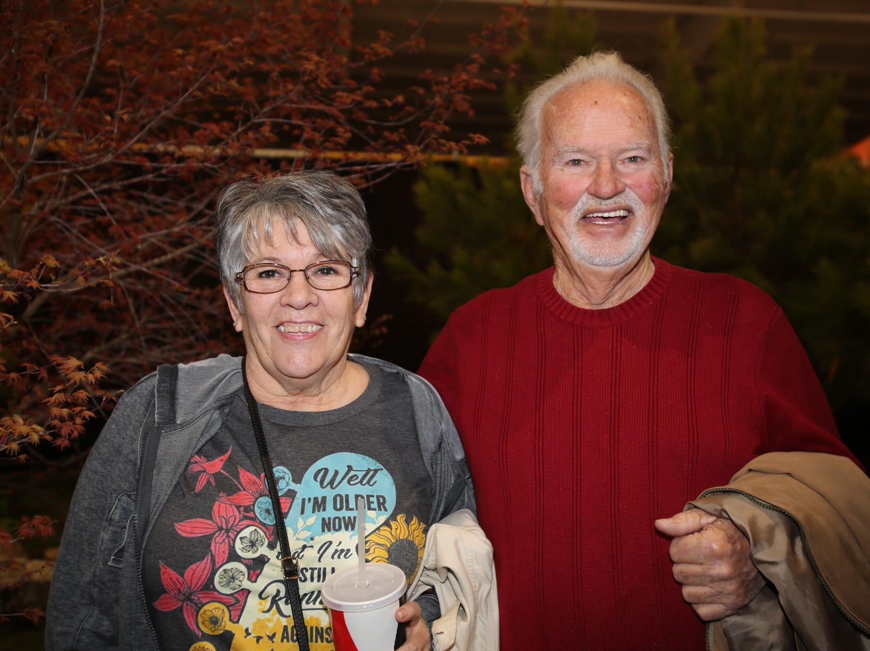 Patti Rouse and Ken Halteman