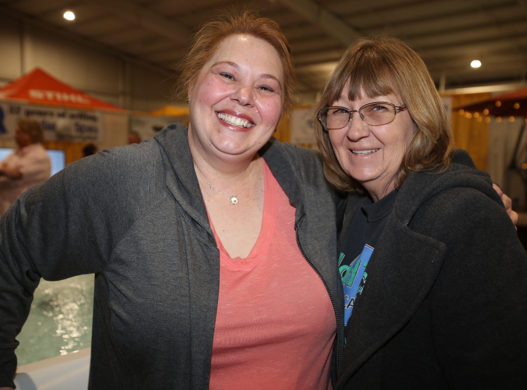 Wendy Farmer and Jackie Ragan