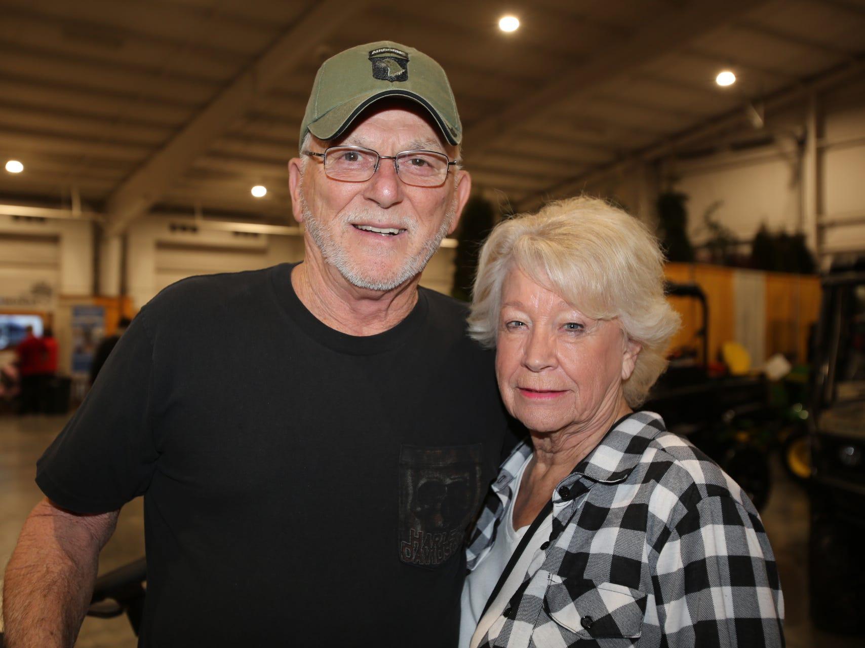 Kenny Martin and Dollie Sprenger