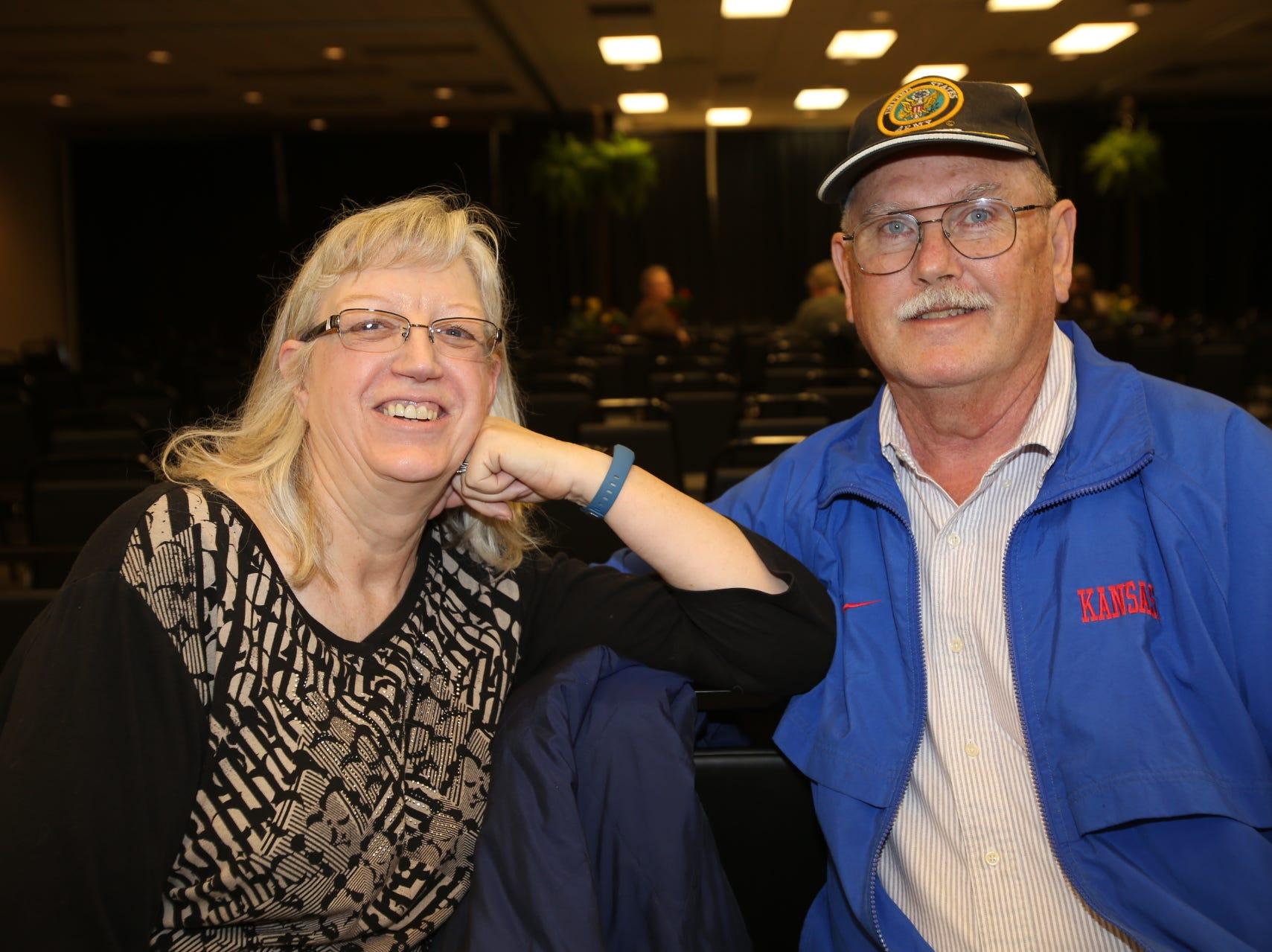 Mary and David Holloway
