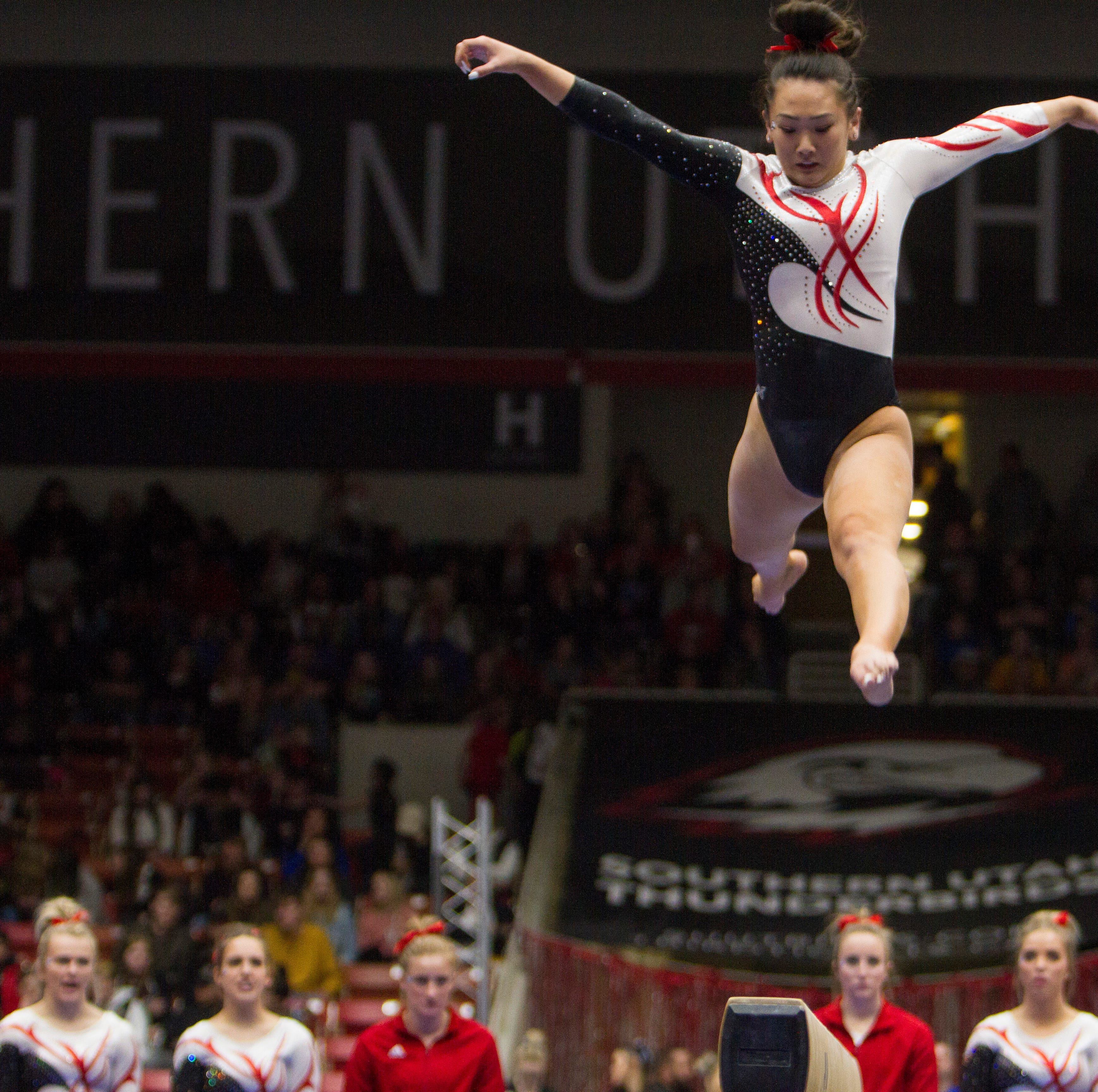 SUU defeats No. 17 BYU in final home meet of season