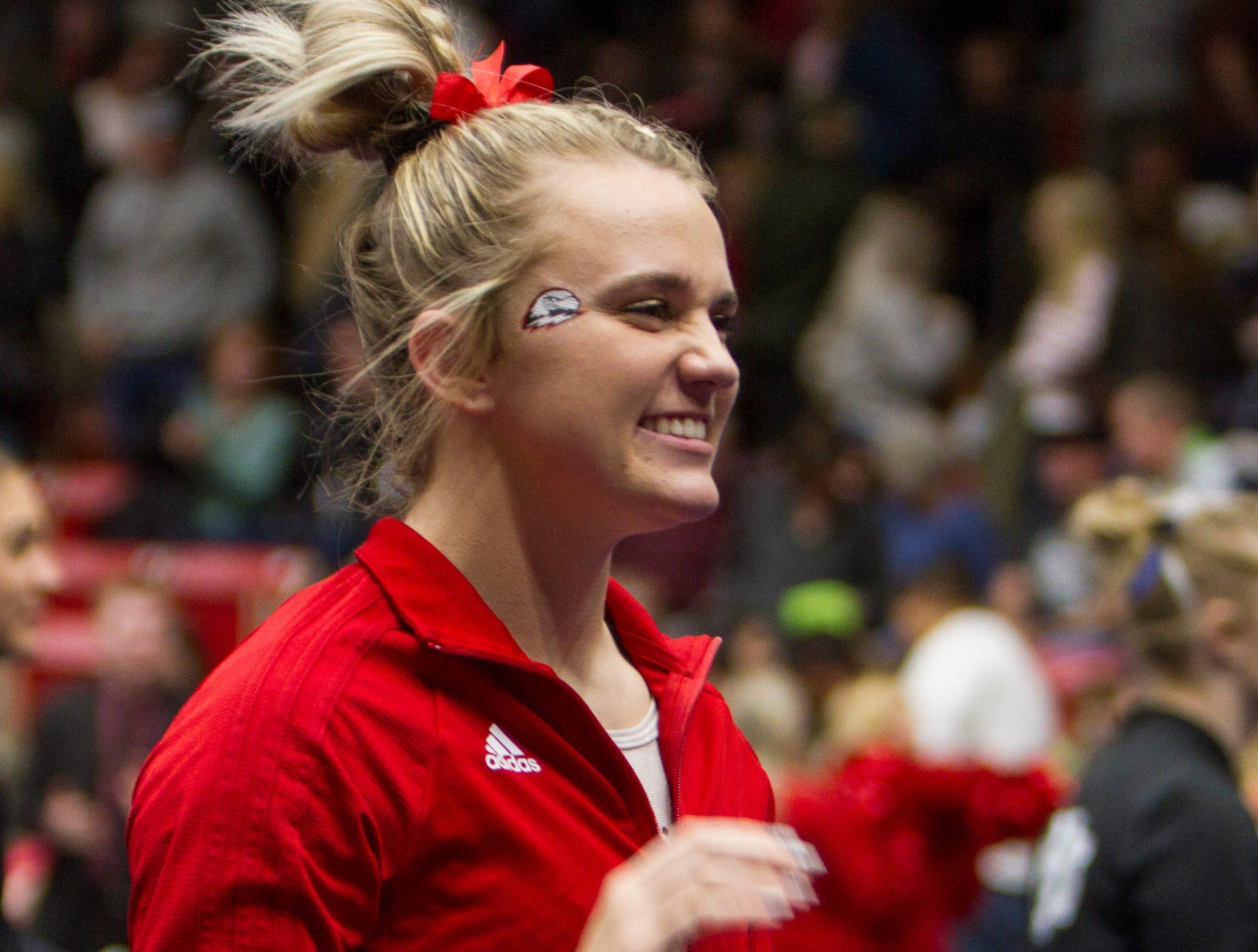 Southern Utah University gymnastics defeats BYU Friday, Feb. 22, 2019.
