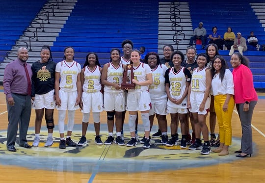 Florida High's girls basketball team won another district title this season, beating Gadsden County.